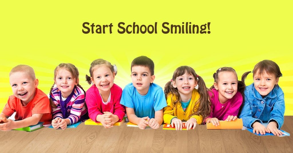 Dental Care for Your Child before Heading Back To School